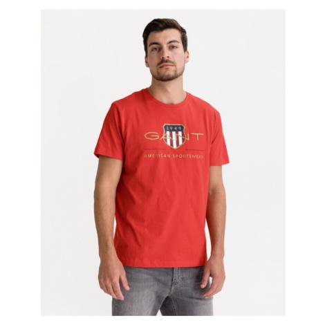 Gant D.2 Archive Shield T-Shirt Rot