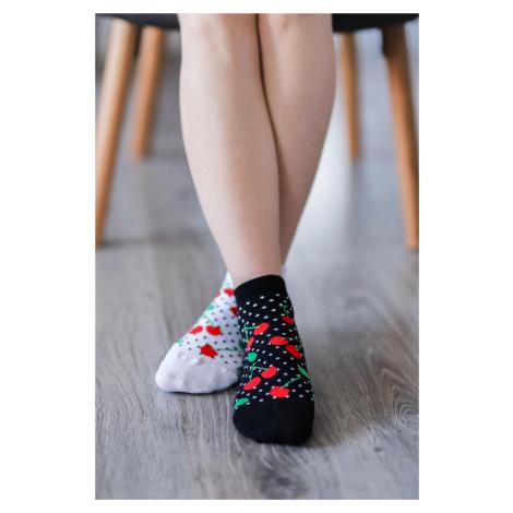 Barfuß-Socken - Kirschen 43-46