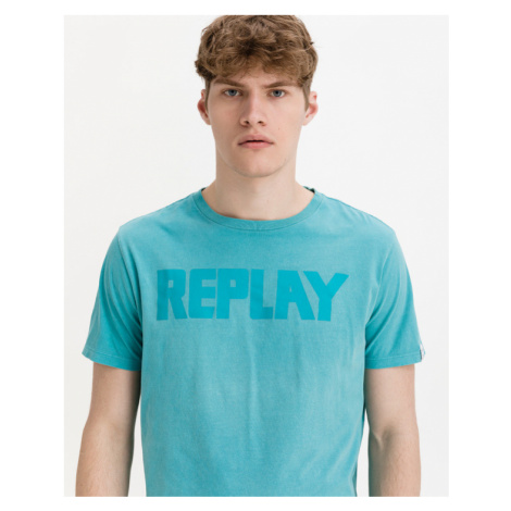 Replay T-Shirt Blau