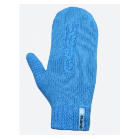 Gestrickte Merino Handschuhe Kama R105 115 türkis