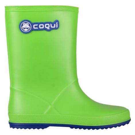 Coqui RAINY grün - Kinderstiefel