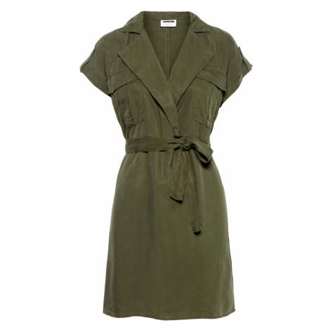 Noisy May Damen Kleid Nmvera S/S Endi Tencel Shirt Dress