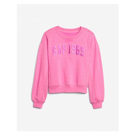 GAP Sweatshirt Kinder Rosa