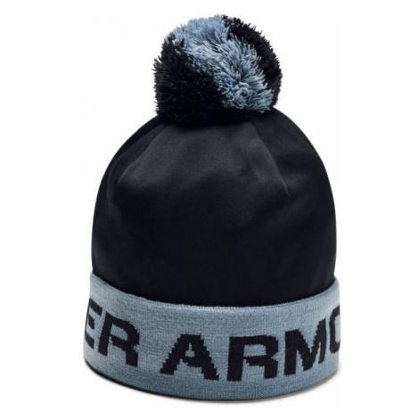 Under Armour GAMETIME POM BEANIE schwarz - Bommelmütze für Jungen