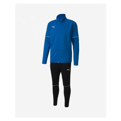 Puma Trainingsanzug Schwarz Blau