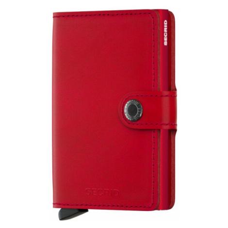 Secrid Geldbörse Miniwallet Original Rot