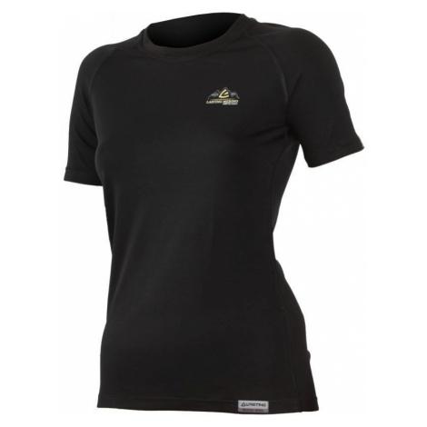 Merino T-Shirt Lasting KLARA 9090 black Wolle