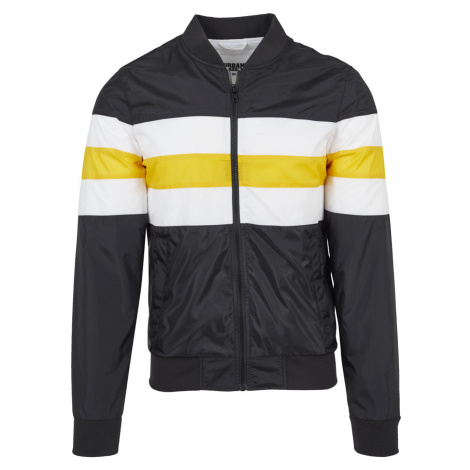 Urban Classics Herren Jacke Striped Nylon - Regular Fit