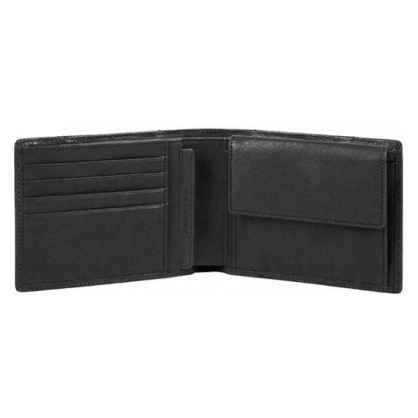 Piquadro 'Brief', 10 cm, Brieftasche, schwarz (PU257BRR/N)