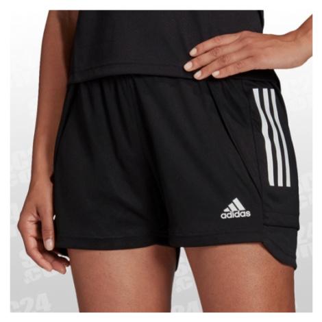 Adidas Condivo 20 Training Short Long Women schwarz/weiss Größe SL