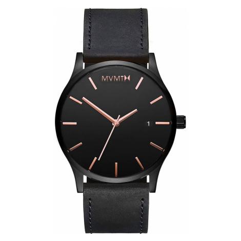MVMT MM01-BBRGL Classic Black Rose Leather 45mm 3ATM