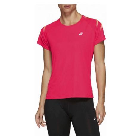 Asics SILVER ICON TOP rosa - Damen Sportshirt