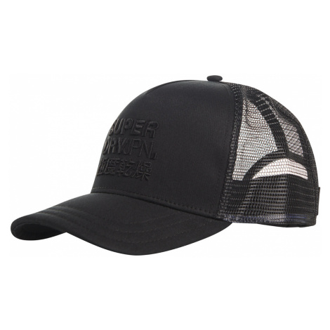 Superdry Cap LOGO TRUCKER CAP Black Schwarz