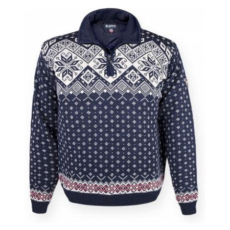 Sweater Kama 3082 108 dark  blau