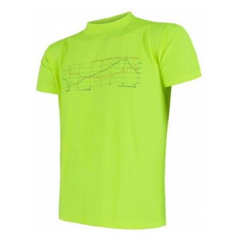 Herren T-Shirt Sensor Coolmax Fresh PT Clown Kurzarm reflex yellow 17200049