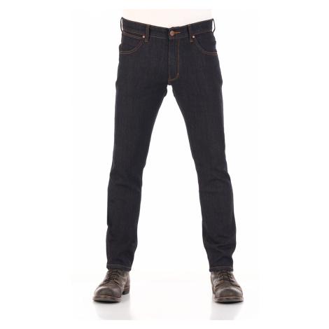 Wrangler Herren Jeans Larston - Slim Tapered Fit - Blau -Dark Rinse