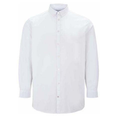 TOM TAILOR Herren Basic Oxford Hemd, weiß