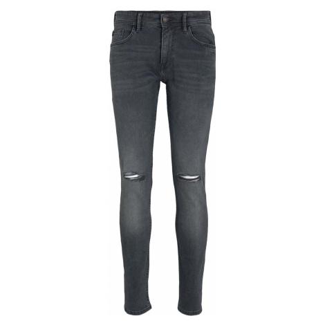 TOM TAILOR DENIM Herren Slim Piers Strech Jeans, grau