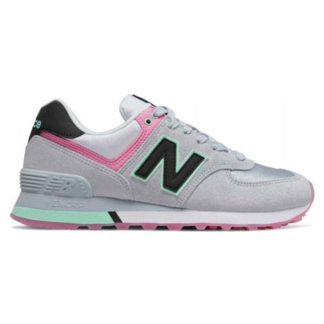New Balance WL574SAT grau - Damen Sneaker