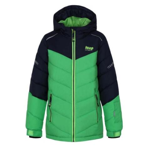 Loap FUGAS grün - Kinder Skijacke