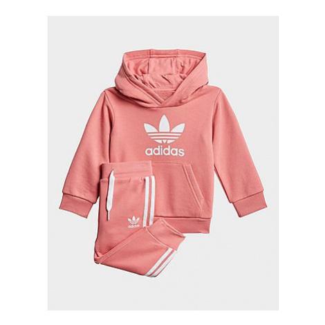 Adidas Originals Trefoil Hoodie-Set - Hazy Rose / White, Hazy Rose / White