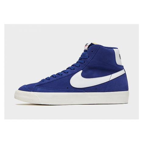 Nike Nike Blazer Mid '77 Suede Schuh - Deep Royal Blue/Sail/Black/White - Herren, Deep Royal Blu