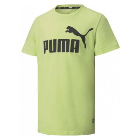 Puma ESS LOGO TEE B grün - Herrenshirt