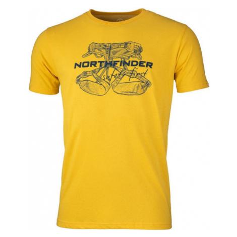 Northfinder DEWIN gelb - Herrenshirt