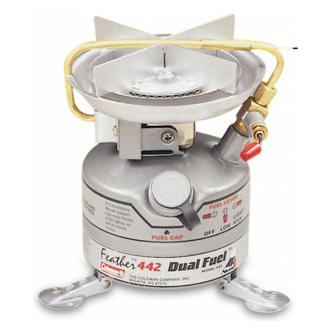 Kocher Coleman Unleaded Feather Stove