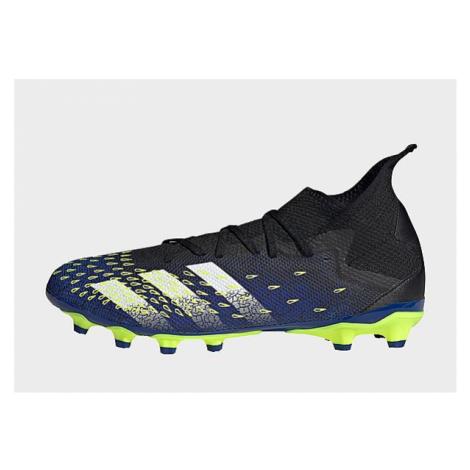 Adidas Predator Freak.3 MG Fußballschuh - Core Black / Cloud White / Solar Yellow - Damen, Core