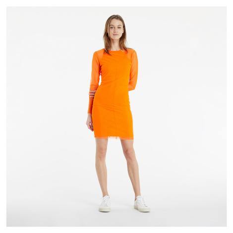 Calvin Klein Jeans Everyday Dress Shocking Orange