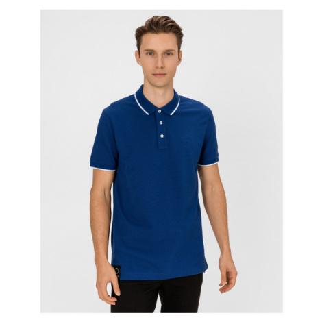 BOSS Parlay 87 Polo T-Shirt Blau Hugo Boss