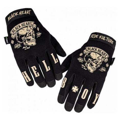 Handschuhe BLACK HEART - RIOTER - SCHWARZ - 029-0008-BLK