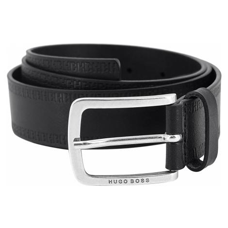 Boss 50452434-001 Herrengürtel Jor Leder Schwarz Hugo Boss