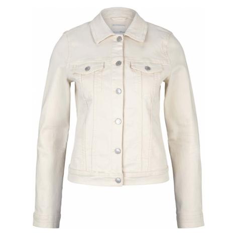 TOM TAILOR DENIM Damen Trucker Jeansjacke mit Bio-Baumwolle , beige