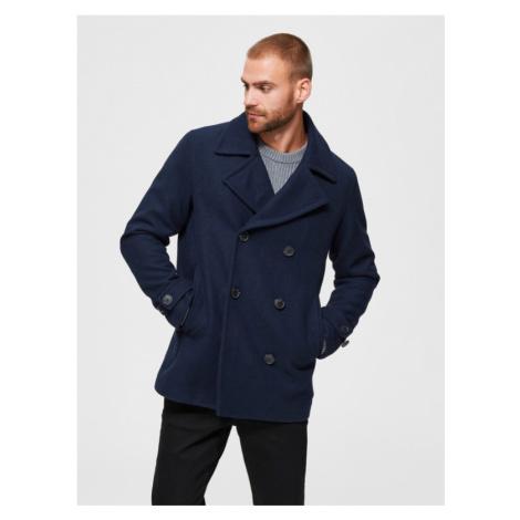 Selected Homme Sustainable Mantel Blau