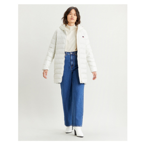 Levi's® Core Down Mid Lenght Puffer Jacket Weiß Levi´s