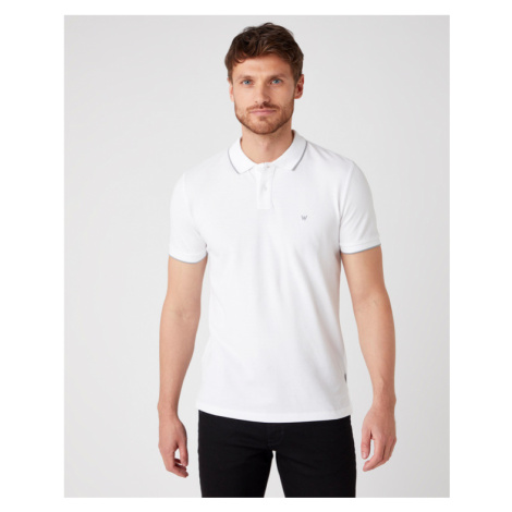 Wrangler Poloshirt Weiß