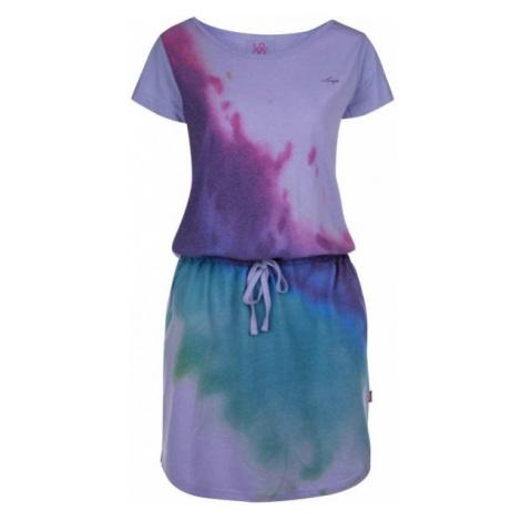 Loap BASILAE violett - Damenkleid