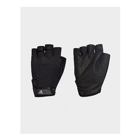 Adidas Versatile Climalite Handschuhe - Black / Black / Iron Met. - Damen, Black / Black / Iron