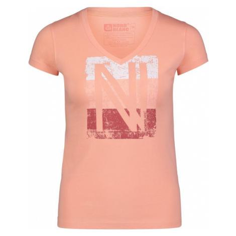 Damen baumwolle T-Shirt NORDBLANC Beschichtung NBSLT6739_ZAO