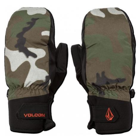 Volcom NYLE MITT dunkelgrün - Herren Handschuhe