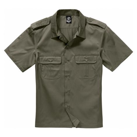 Brandit Hemd SHORT SLEEVES US SHIRT BD4101 Olive