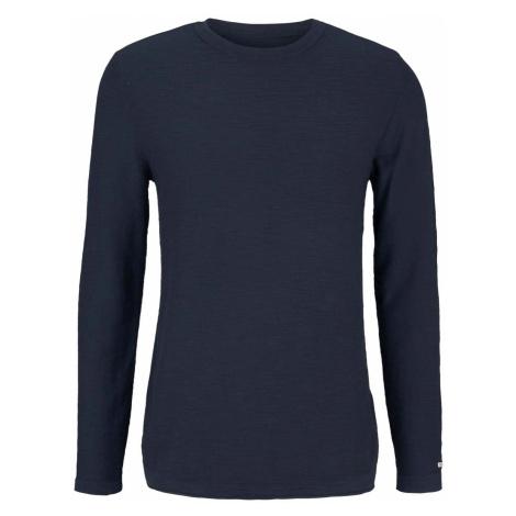 TOM TAILOR Herren Sweatshirt mit Waschung, blau