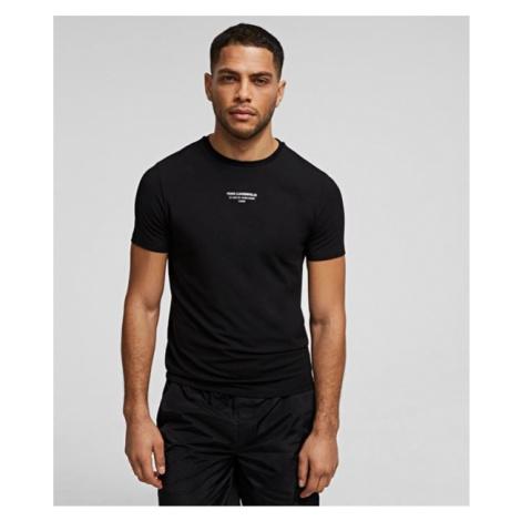 T-Shirt mit Rue St-Guillaume-Logo Karl Lagerfeld