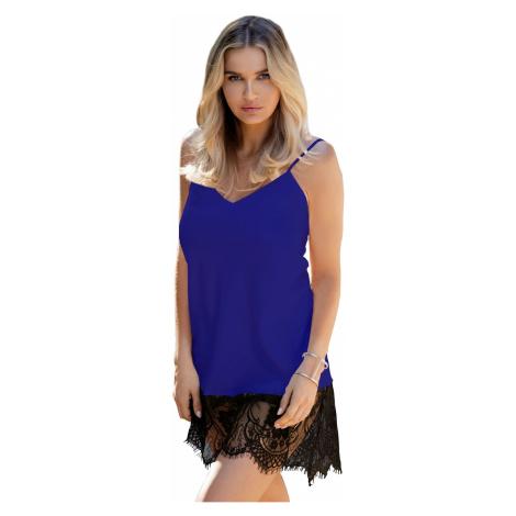 Luxuriöse Nachthemden für Damen Chanelle blue DKaren