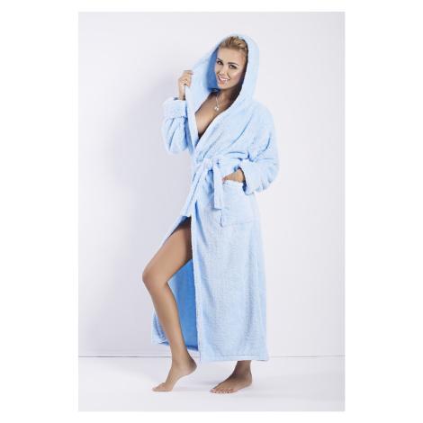 Damen Bademäntel Diana long light blue DKaren