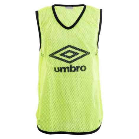 Umbro MESH TRAINING BIB - 60X46CM - Kids gelb - Kinder Trainingsleibchen