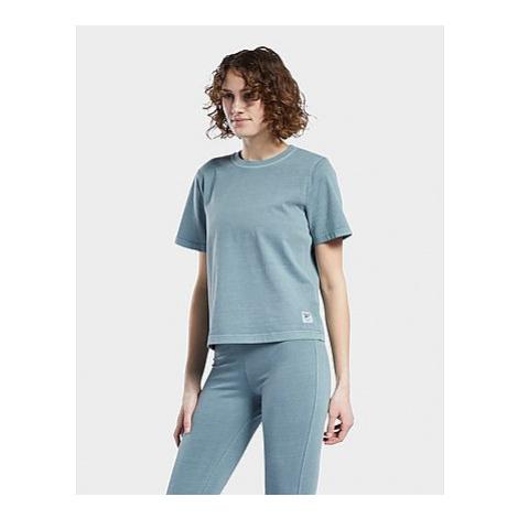 Reebok reebok classics natural dye t-shirt - Damen, Midnight Pine