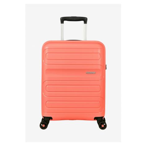 American Tourister Sunside Spinner Coral S (55 cm) Handgepäck Koffer
